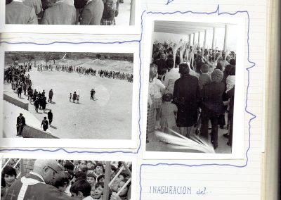 abril 1973 inauguración parque infantil