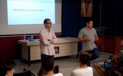 Manuel Llorca, profesor de la Universidad de Alcoy, en las jornadas de las TIC