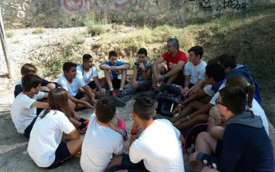 Los alumnos de secundaria han realizado su salida a la Font de la Salut