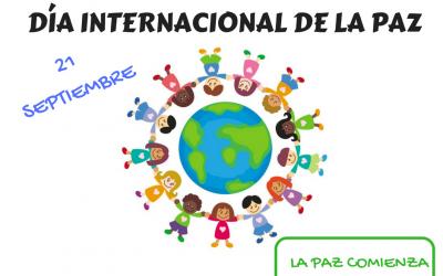 Los más pequeños con el Día Internacional de la Paz