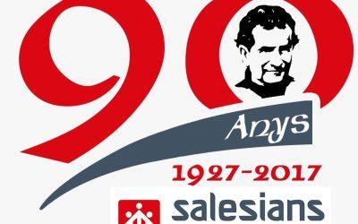 Presentación del logotipo y cartel del 90 aniversario de la presencia salesiana en Alcoy