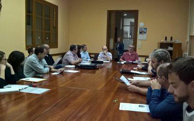 Primera reunión del COS (Consejo de la Obra Salesiana) del curso 2017-2018