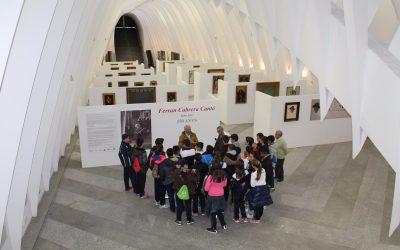 """Los alumnos de 2º de ESO han visitado la exposición """"Ferran Cabrera 150 anys"""""""