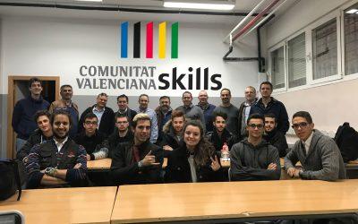 El teu talent és el nostre motor: Saoro Pascual i Raúl Martinez a Comunitat Valenciana Skills 2017