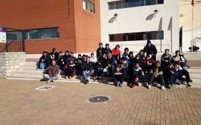 Els alumnes de 1er. d'ESO visiten Beniarrés
