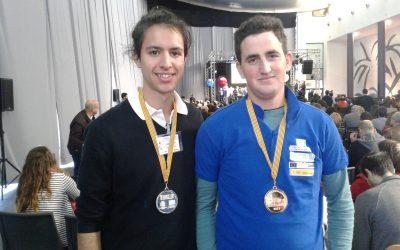 Saoro Pascual, medalla de plata en CVskills 2017