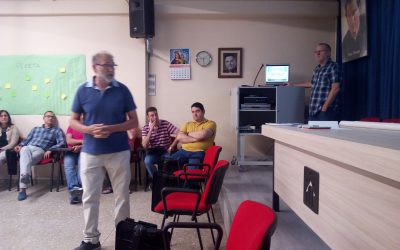 Jornada de formación para todo el profesorado como fruto de los programas Eramus+