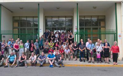 Visitan Salesianos Juan XXIII cerca de un centenar de profesores islandeses