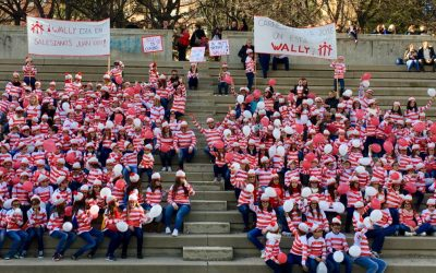 ¿Dónde está Wally? Wally está en Salesianos Juan XXIII