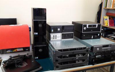 La empresa Mutua de Levante ha realizado una donación de material informático al departamento de telecomunicaciones de nuestra escuela