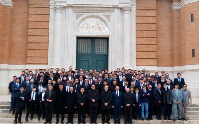 10 seminaristas estarán en nuestra parroquia los días 17 y 18 de febrero