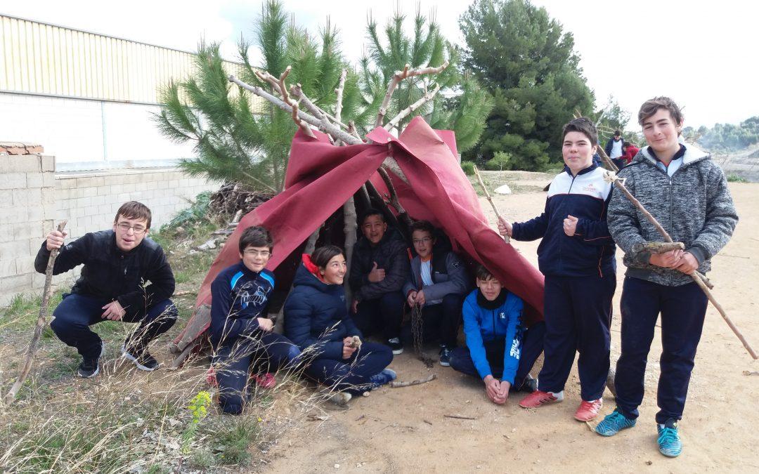 Els alumnes de 1er. d'ESO viatgen a la Prehistòria