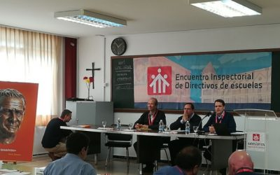 Salesianos Alcoy presente en el 2º Encuentro Inspectorial de directores y directivos de escuelas