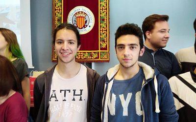 Saoro Pascual y Sergi Doménech reconocidos por la UPV Alcoy