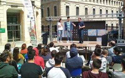 Nuestros alumnos de FP en la XIII edición del Campus Empleo de la Universidad Politécnica de Valencia