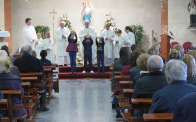 Celebraciones de Semana Santa en nuestra parroquia