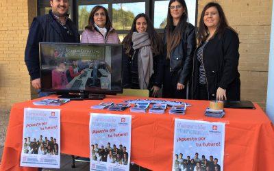 Nuestra Escuela Profesional participa en la Feria de la Educación de Cocentaina