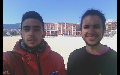 """Saoro Pascual y Sergi Domènech participan en el concurso """"Muestra la Ciencia en vídeo"""" de la Universidad Politécnica de Valencia"""