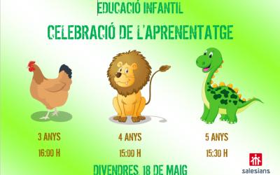 Celebració de l´aprenentatge a educació infantil