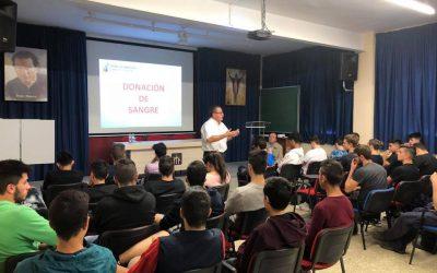 Los alumnos de FP se informan sobre la donación de sangre