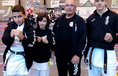 Alan Expósito, 2º clasificado en Beerse (Bélgica)