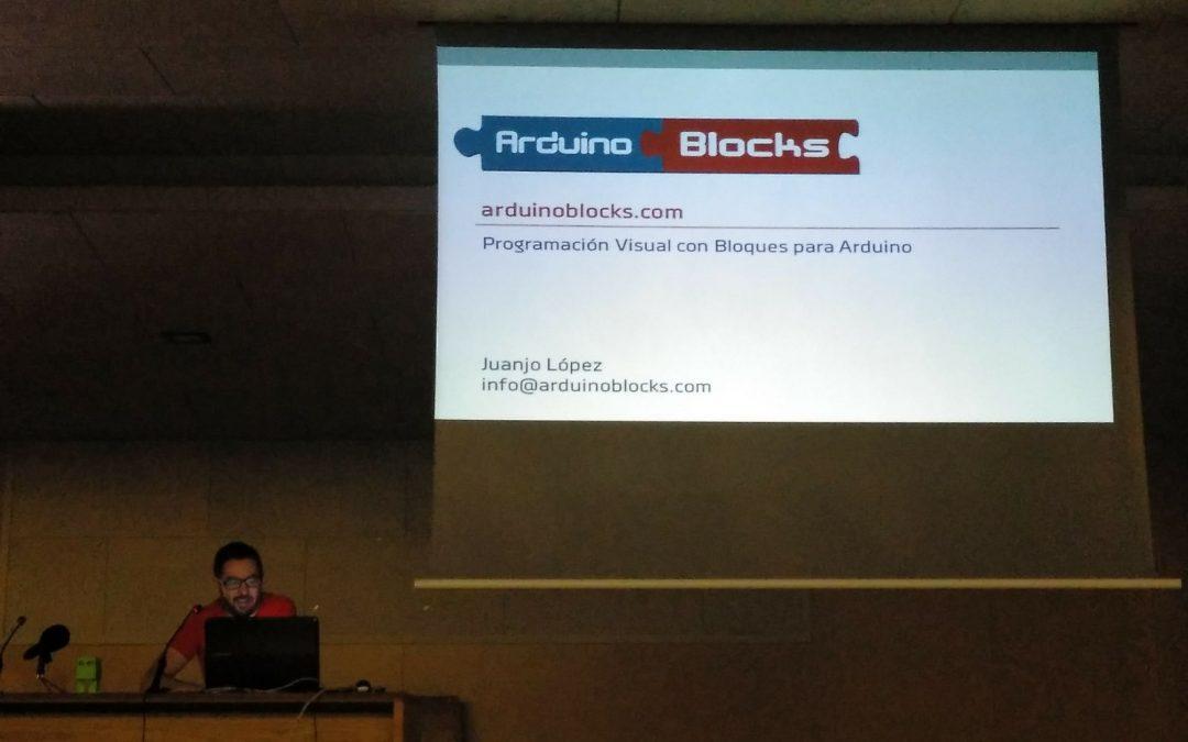 Juanjo López, profesor de FPB informática, presente en Robolot 2018
