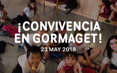 Convivencia de los alumnos de 1º y 2º de Primaria en Gormaget