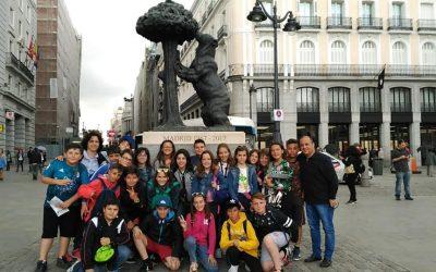 Los alumnos de 6º de primaria viven una experiencia única e irrepetible: MADRID'18