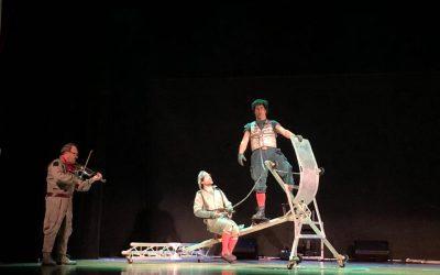 """Los alumnos de 3°, 4° y 5º de EP han asistido a la obra teatral """" Los viajes de Ulises"""""""