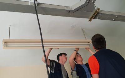 Actualización y eficiencia en iluminación