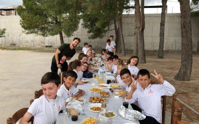 """Los alumnos de 3º de Primaria celebran la """"fiesta de la comuniones"""""""
