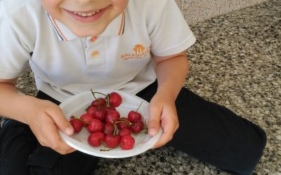 Primaria participa en el programa europeo de fruta y verdura