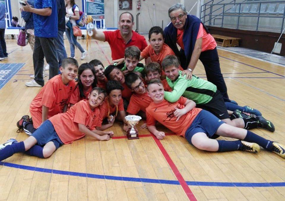 L'equip Aleví de Futbol 8 es proclama campió de l'Esport en 3D