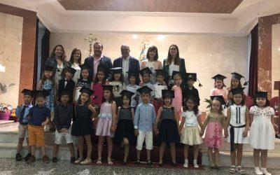 Los/as alumnos/as de 5 años se gradúan en Educación Infantil