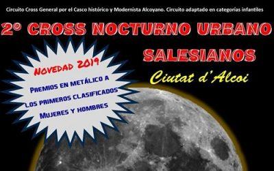 La 2ª Edición del Cross Nocturno Salesianos Alcoy ya está en marcha