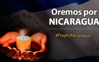 Oración por la paz en Nicaragua