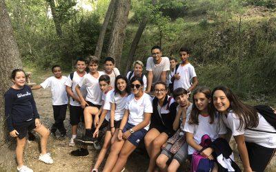 Los alumnos de ESO de excursión al Racó de Sant Bonaventura