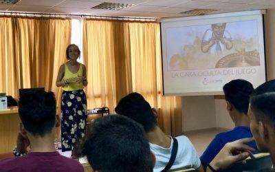 Grupo Martes aborda las adicciones al juego online en los talleres de prevención