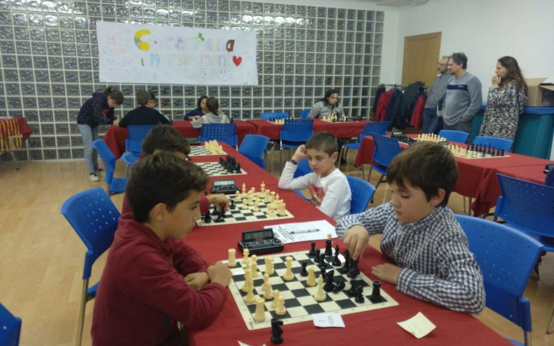 Participació de l'extraescolar d'escacs al 20é encontre d'escoles a Cocentaina
