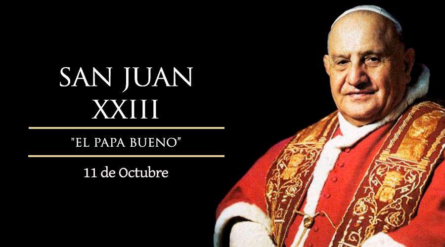 Hoy recordamos al Papa Juan XXIII