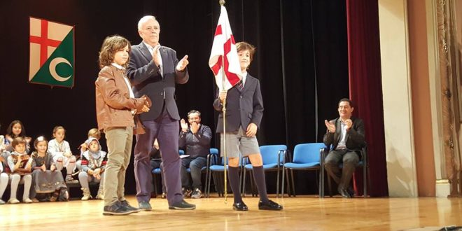 Álvaro Santacreu, alumno del San Vicente Ferrer, Sant Jordiet 2019