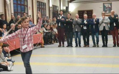 Miguel Mirón Albero, de 3º de primaria del Juan 23, nuevo sargento moro infantil