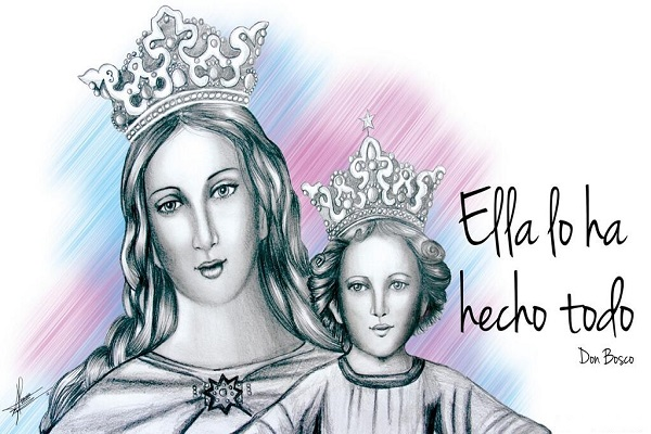 Empieza el mes de María en Salesianos Alcoy