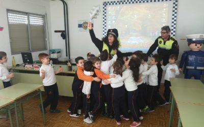 Educación vial para los alumnos de 5 años