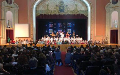 Infantil y Primaria del Juan 23 presentan su festival de Navidad