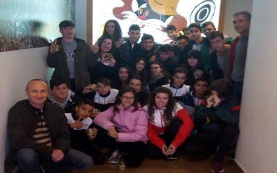 """Els alumnes de 3er d'ESO visiten """"El Serpis"""""""