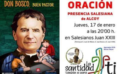 Oración de la Presencia Salesiana de Alcoy a Don Bosco