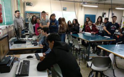 Alumnos de Salesianos Ibi visitan nuestra Escuela Profesional
