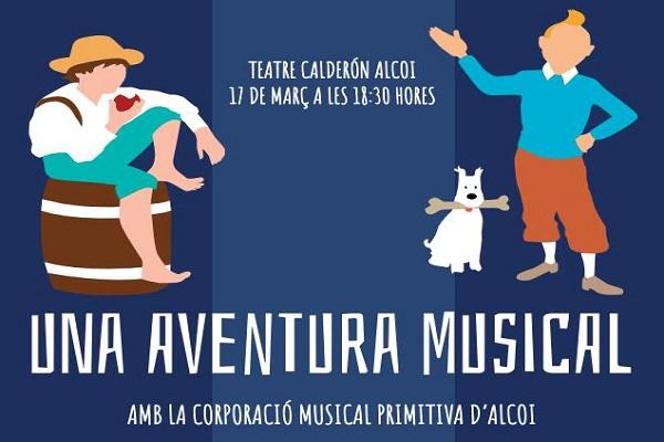 "La Corporació Musical Primitiva presenta ""Una aventura musical"""