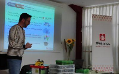 Formación sobre robótica educativa para profes de nuestra inspectoría